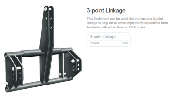 TRIMA 3-POINT LINKAGE full