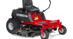 MOWER MASSEY FERGUSON 50-22ZT ZERO TURN