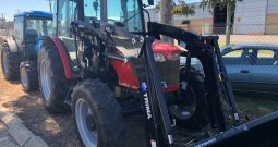 Massey Ferguson 3635 Cab Tractor with NEW Trima Self Levelling Loader