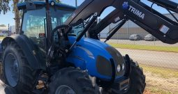 Landini Powerfarm 85 Cab Tractor with Trima Front end Loader