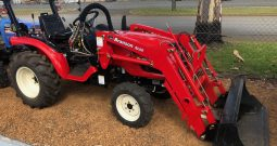 BRANSON 2200 4WD ROPS TRACTOR WITH FRONTEND LOADER