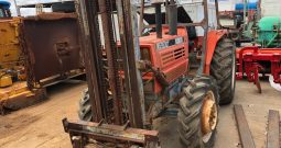 KUBOTA 5950DT 4WD TRACTOR WITH FRONT MOUNTED FORKLIFT