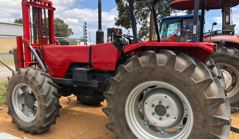 Massey ferguson 373 4wd tractor with front mounted forklift wattleup tractors - Massey ferguson head office ...