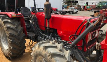 MASSEY FERGUSON 373 4WD TRACTOR WITH FRONT MOUNTED FORKLIFT full