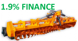 FALC GAMMA 4600 HEAVY DUTY ROTARY HOE FOLDING WITH REAR CRUMBLE ROLLER **1.9% FINANCE**