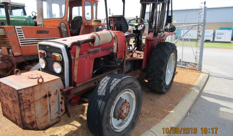 MASSEY FERGUSON 254 4WD TRACTOR WITH WITH 2TON FORKLIFT WITH SIDESHIFT full