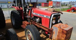 MASSEY FERGUSON 254 4WD TRACTOR WITH WITH 2TON FORKLIFT WITH SIDESHIFT