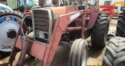 MASSEY FERGUSON 575 2WD TRACTOR WITH FRONT END LOADER