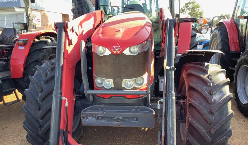 MASSEY FERGUSON 6612 4WD WITH SELF LEVELLING FRONT END LOADER full