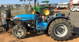 LANDINI REX 90F ROPS TRACTOR WITH FRONT MOUNTED BURDER FORKLIFT